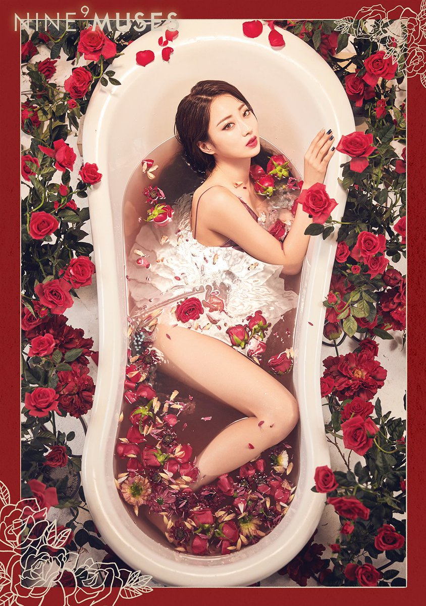 Update: 9MUSES Ramp Up Their Sexy Image In New Comeback Teasers
