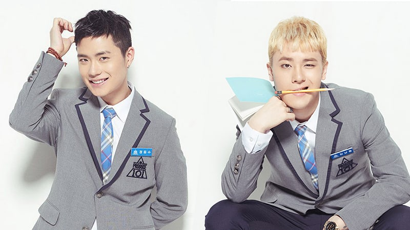 """Former """"Produce 101 Season 2"""" Trainees Jung Dong Soo And Kim Nam Hyung To Promote In Philippines"""