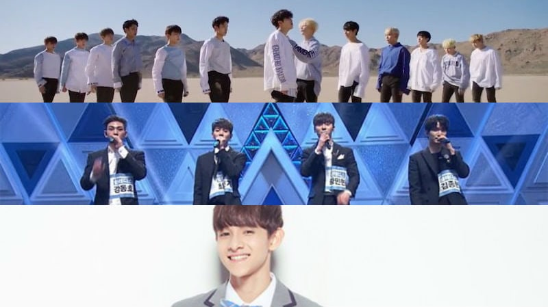 SEVENTEEN Shares Their Affection And Support For NUEST And Samuel Kim On Produce 101 Season 2