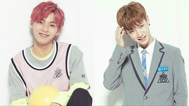 "HF Music Company Trainees Woo Jin Young And Jo Yong Geun Talk About Their Time On ""Produce 101 Season 2"""