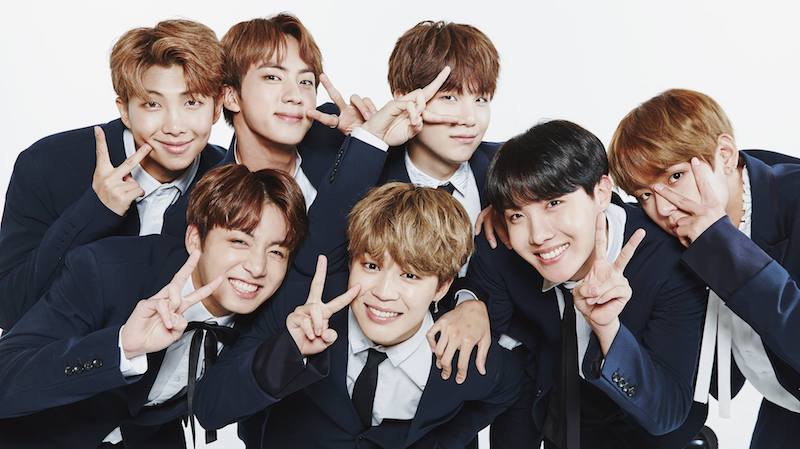Times Square's Twitter Account Celebrates BTS's 4th Anniversary With Fans