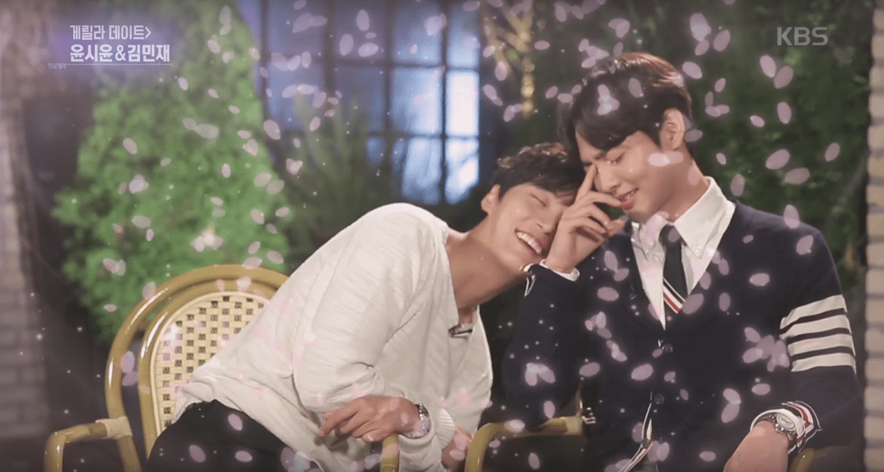 """Yoon Shi Yoon And Kim Min Jae From """"Greatest One-Shot"""" Amp Up The Bromance On """"Entertainment Weekly"""""""