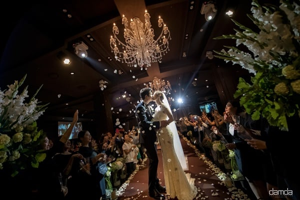 Lee Sang Woo And Kim So Hyun Release Stunning Official Pictures From Wedding Ceremony