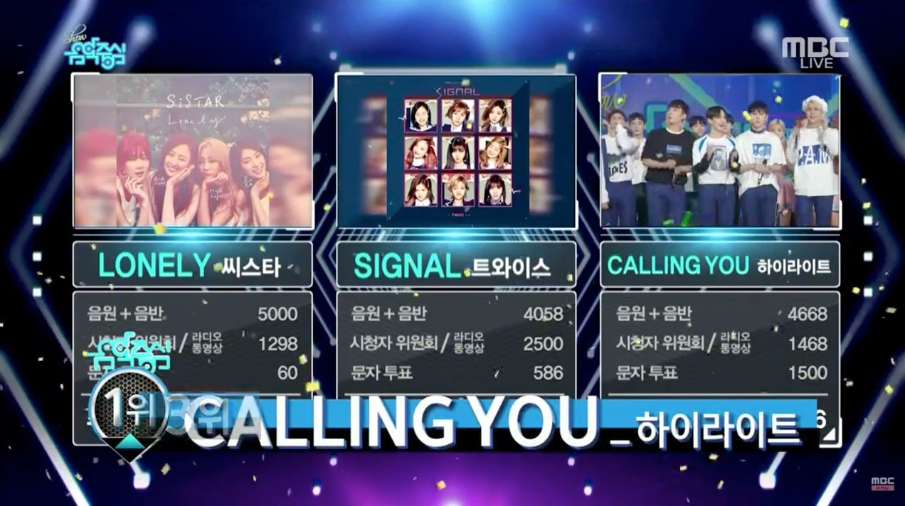 "Watch: Highlight Grabs 2nd Win With ""Calling You"" On ""Music Core""; Performances By FTISLAND, Cosmic Girls, And More!"
