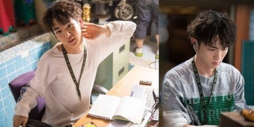 """SHINee's Key Gets Into His Element As An Actor In Behind-The-Scenes Stills For """"Lookout"""""""