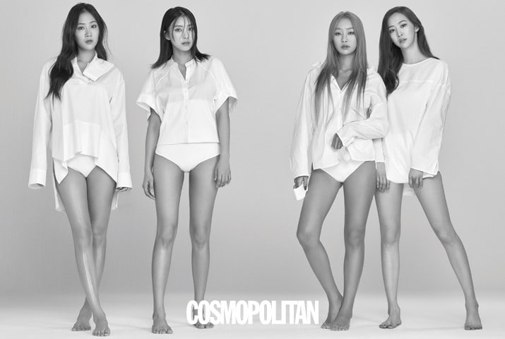 SISTAR Releases Last Pictorial Together For Cosmopolitan Magazine