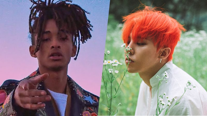 Jaden Smith Shows Support For G-Dragons New Album On Twitter