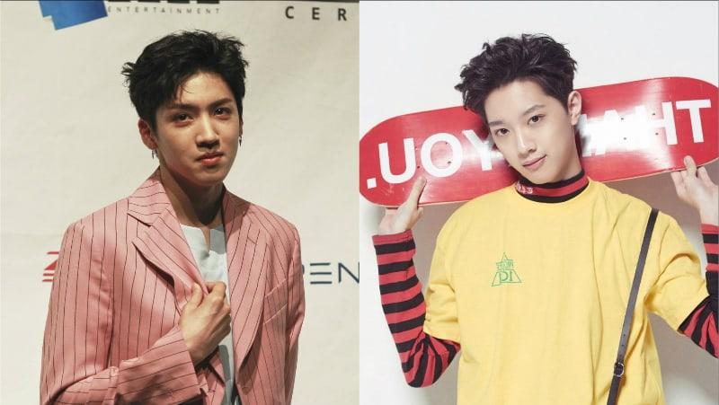 "PENTAGON's Wooseok Responds To ""Produce 101 Season 2"" Trainee Lai Guan Lin's Love For Him"