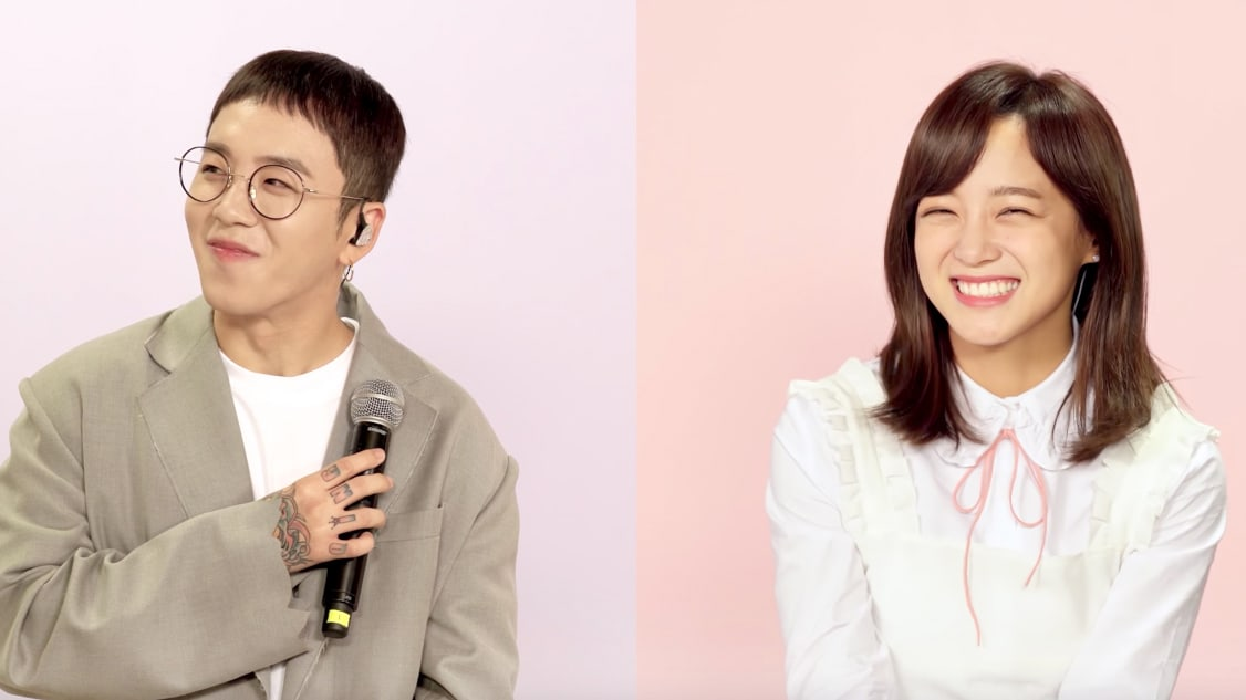"Watch: Block B's Taeil And gugudan's Kim Sejeong Perform Taeil's New Track ""I Like You, I Don't"""