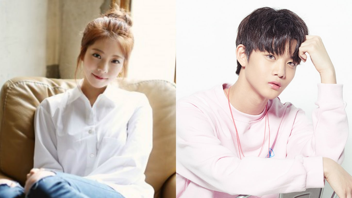Singer Juniel Shows Support For Produce 101 Season 2 Trainee Bae Jin Young