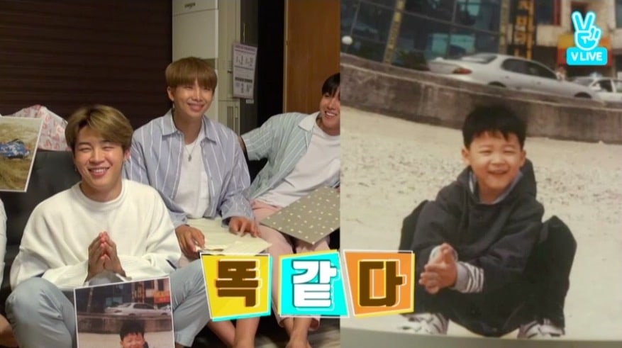 "BTS Shares Adorable Childhood Photos On Their 4th Anniversary During ""BTS Home Party"" Event"