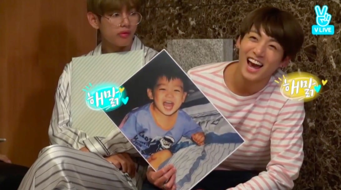 BTS Shares Adorable Childhood Photos On Their 4th