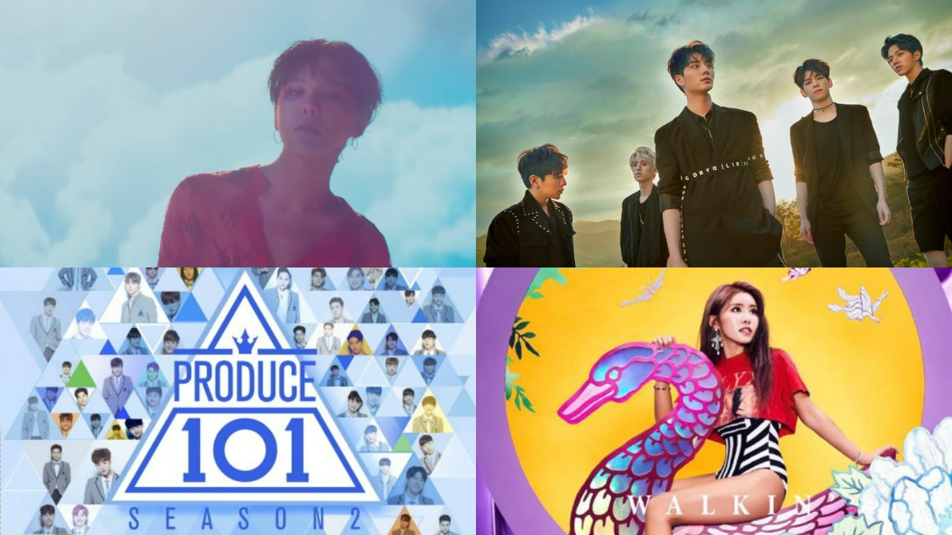 G-Dragon, DAY6, Produce 101 Season 2, And Surans Releases Make Impressive Debuts On Billboards World Albums Chart