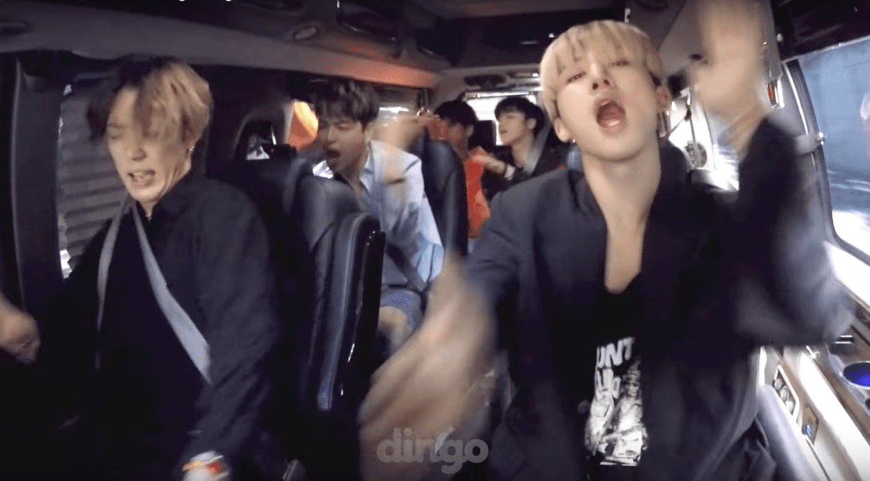 "Watch: iKON Turns Their Car Into Hype Central As They Jam Out To ""BLING BLING"""