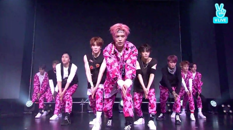 "Watch: NCT 127 Performs New Track ""Cherry Bomb"" At Comeback Showcase"