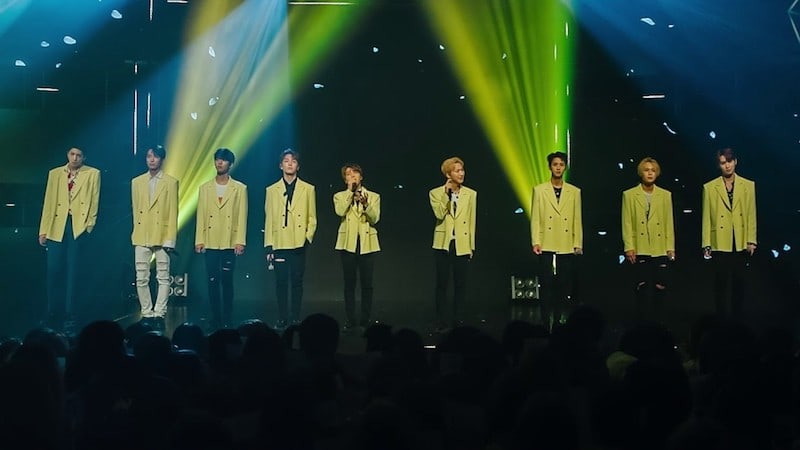 Watch: PENTAGON Performs Their Special Song For Fans At Mini Concert
