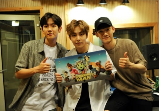 "EXO-CBX To Sing ""Running Man"" Animated Series' Theme Song"