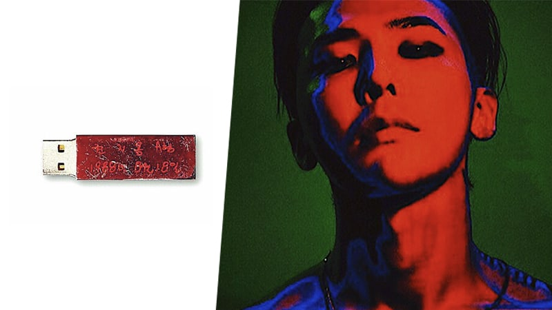 Fans Share That G-Dragons New USB Album Rubs Off Red Ink