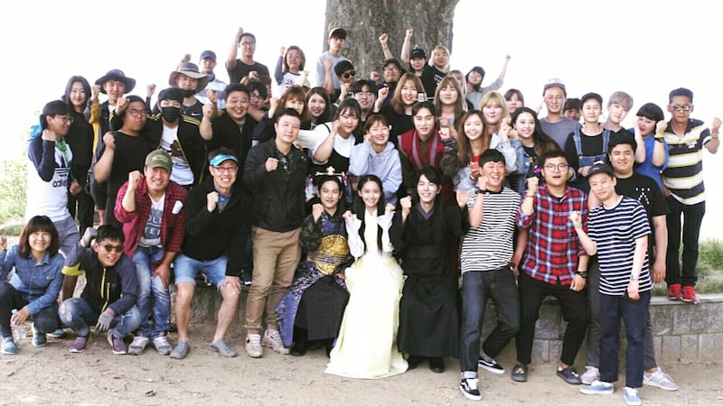 """YoonA Shares Photo And Video With """"The King Loves"""" Cast And Crew To Celebrate Wrapping Up Filming"""