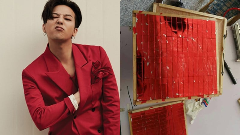 """YG Explains That The Red Rubbing Off Of G-Dragon's """"Kwon Ji Yong"""" USB Is Intentional"""