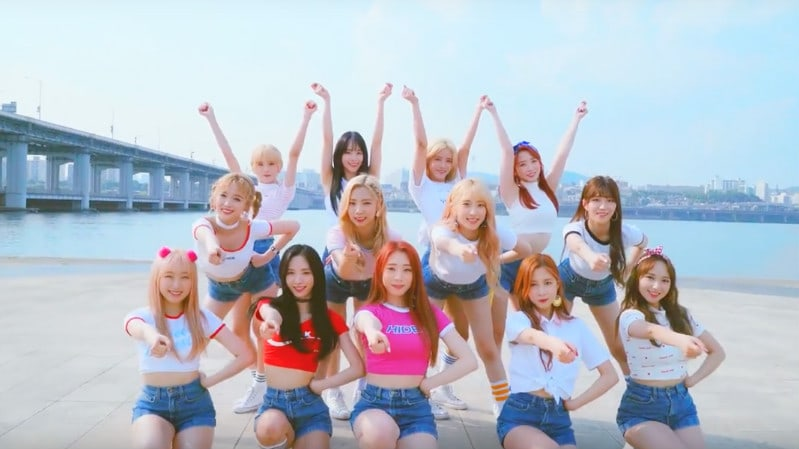 "Watch: Cosmic Girls Are ""Happy"" To Look You In The Eye In New Dance Practice Video"
