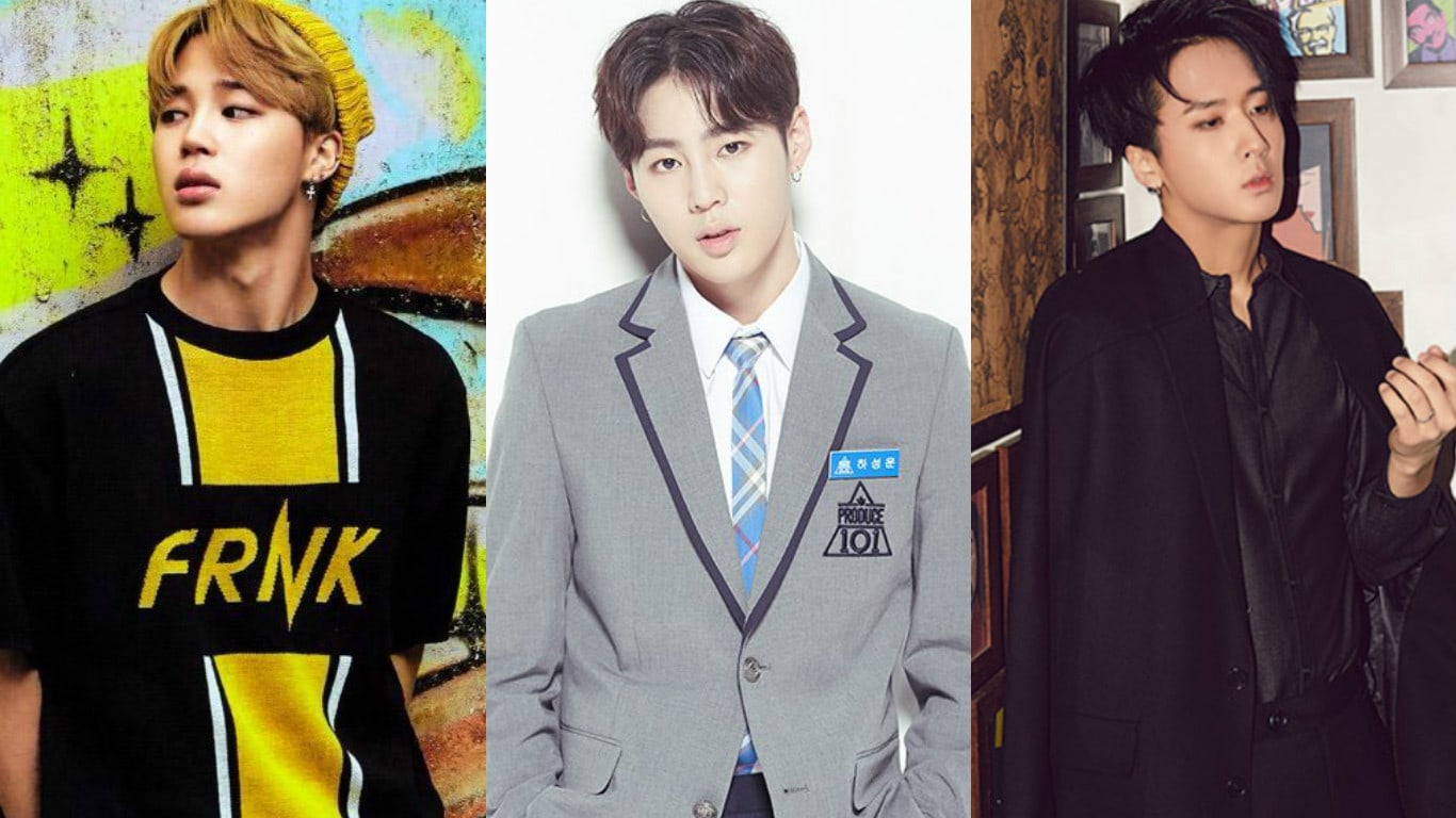 BTSs Jimin And VIXXs Ravi Write Sweet Supportive Messages For Ha Sung Woon After Produce 101 Season 2 Finale