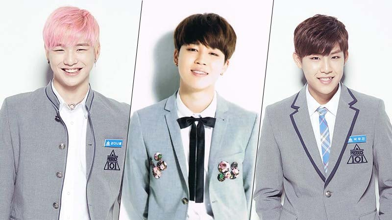 BTSs Jimin, Produce 101s Kang Daniel and Park Woojin Spotted In Same Dance Competition
