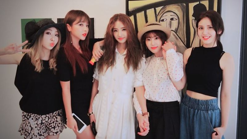 "Unnies From ""Sister's Slam Dunk Season 2"" Reunite To Support Kang Ye Won"