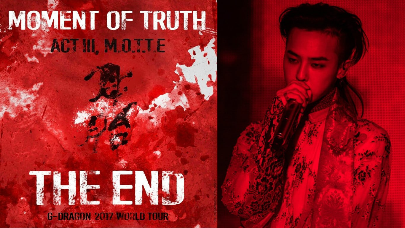 YG Announces Additional Cities For G-Dragon's Solo World Tour