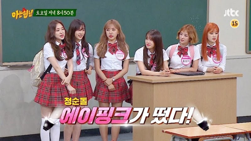 "Watch: Apink's Hyper Personalities Take ""Ask Us Anything"" By Storm In Episode Preview"