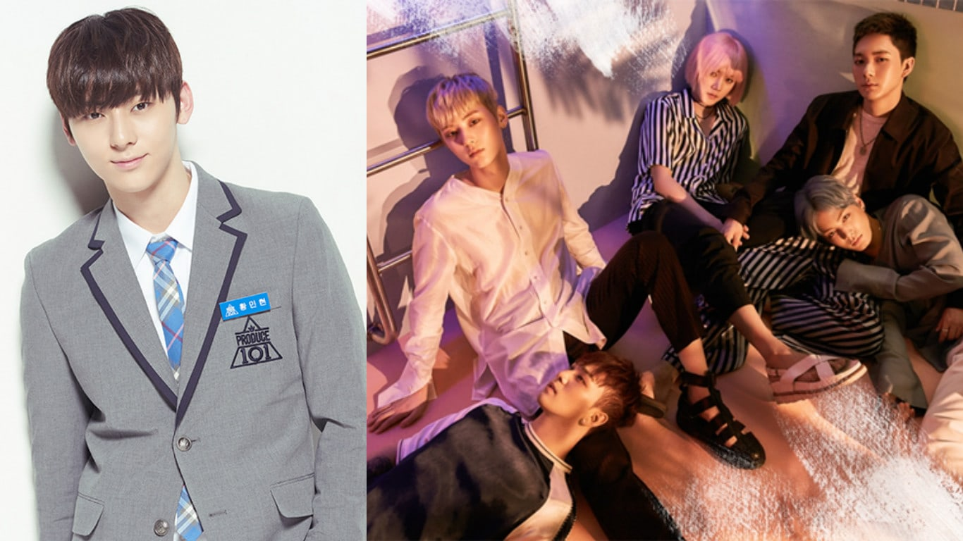 """Wanna One's Hwang Min Hyun Shows Love For NU'EST In 1st Update After """"Produce 101 Season 2"""""""