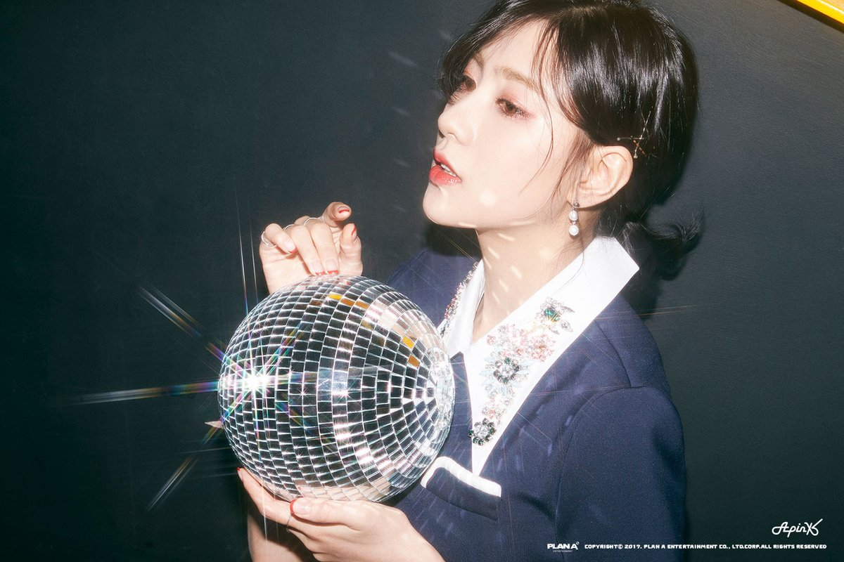 Hayoung Looks Stunning In First Teaser Images For Apinks Upcoming Mini Album Pink UP