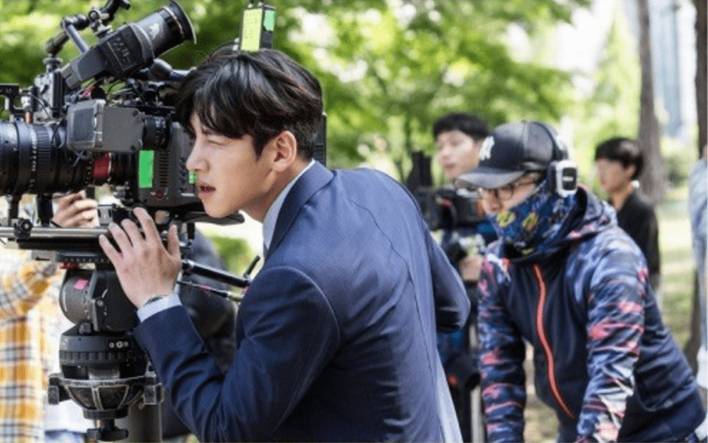 """Ji Chang Wook Transforms Into Director Behind The Scenes In """"Suspicious Partner"""""""