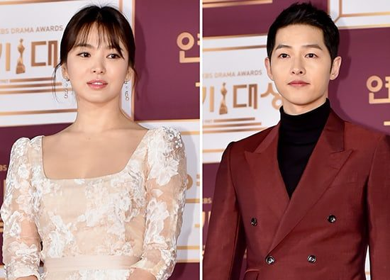 Song Joong Ki And Song Hye Kyo Caught Up In Dating Rumors Once Again + Agencies Respond