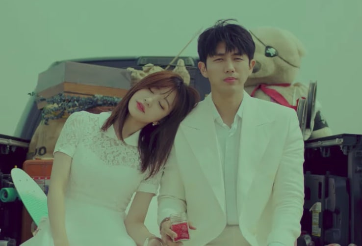 "Update: EXID's Hani And Im Seulong Are Runaway Lovers In ""It's You"" Teaser"
