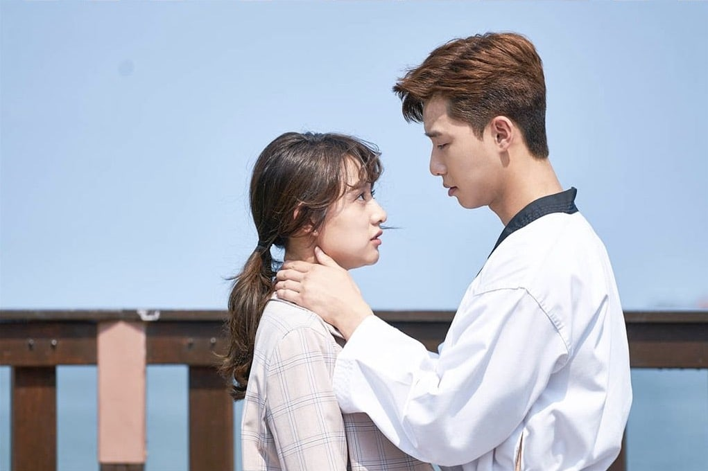 Park Seo Joon And Kim Ji Won Romantically Lock Eyes In Latest Fight My Way Preview Stills