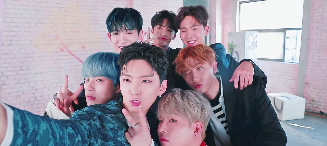 """Watch: MONSTA X Balances Work And Fun In Behind-The-Scenes Video Of """"Shine Forever"""" Photo Shoot"""