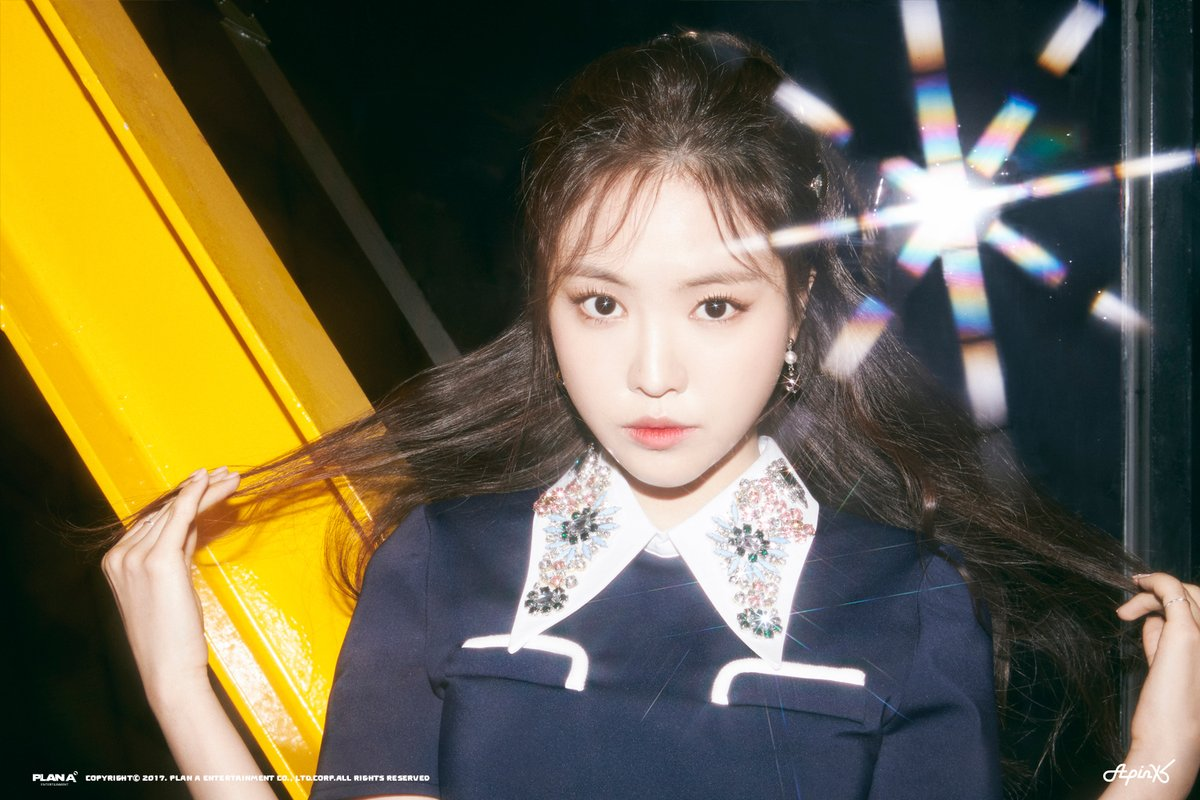 Apinks Naeun Is Mesmerizing In New Teaser Photos For Pink UP