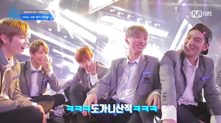 """Watch: """"Produce 101 Season 2"""" Trainees Show Their Close Friendships And Hard Work Behind The Scenes Of Finale"""