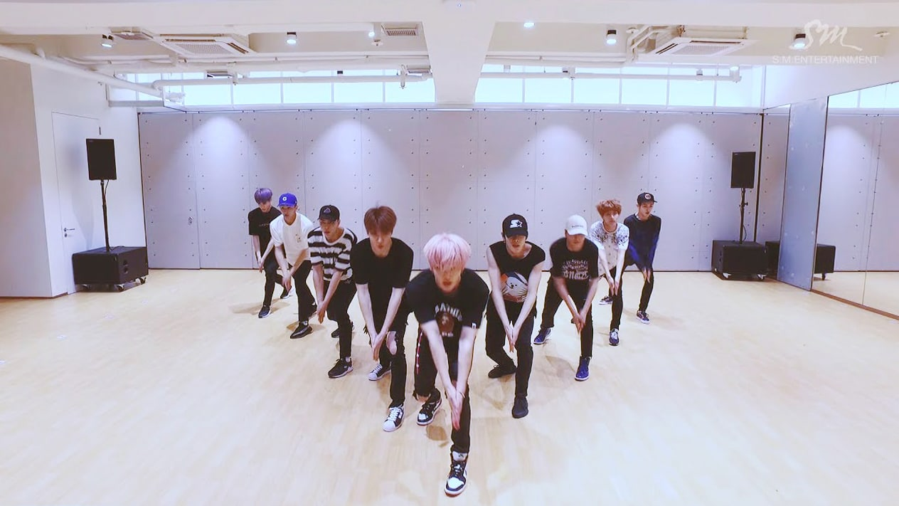 Watch: NCT 127 Is The Biggest Hit On The Stage In New Dance Practice Video For Cherry Bomb