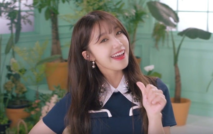 """Update: Apink's Jung Eun Ji Is Energetic In Her New Motion Teaser For """"Pink UP"""""""