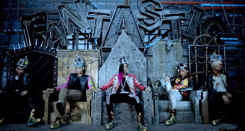 """BIGBANG Becomes First K-Pop Group To Hit 300 Million Views With """"Fantastic Baby"""" MV"""