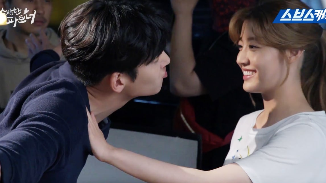 """Watch: Ji Chang Wook Gets Frustrated By Nam Ji Hyun In """"Suspicious Partner"""" Behind-The-Scenes"""