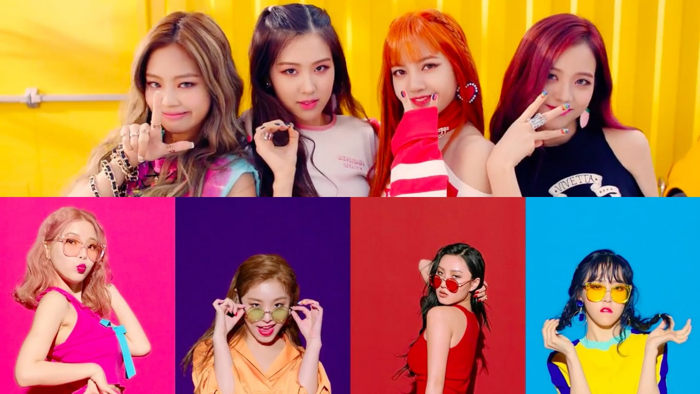 BLACKPINK And MAMAMOO Take Over The Charts With New Tracks