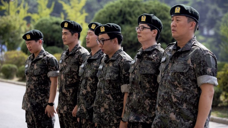 Infinite Challenge Cast Heads To The Military For Real Men-Inspired Special