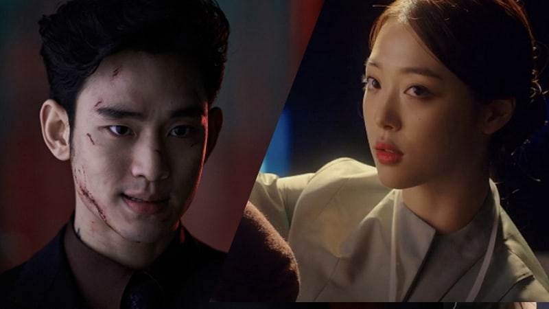 """Sulli's Censored Comment About Kiss Scene With Kim Soo Hyun In """"Real"""" Revealed"""