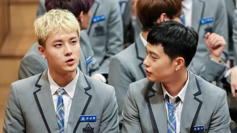 """Kim Nam Hyung And Jung Dong Soo From """"Produce 101 Season 2"""" Share Details And Teasers For New Single"""