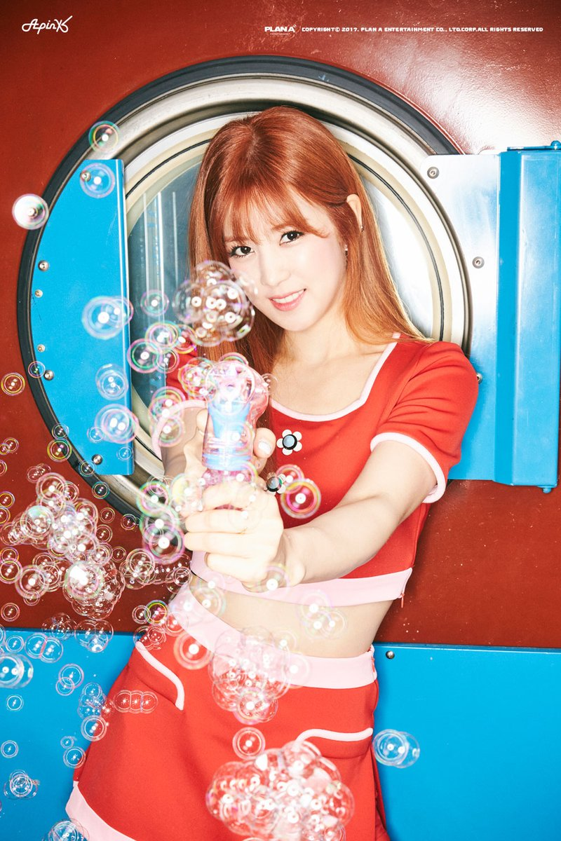 Apinks Chorong Aims For Your Heart In Latest Teaser Images For Pink UP