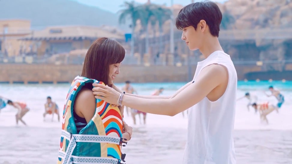 Watch: ASTRO's Cha Eun Woo And gugudan's Kim Sejeong Fall In Summer Love In Sweet New Ad