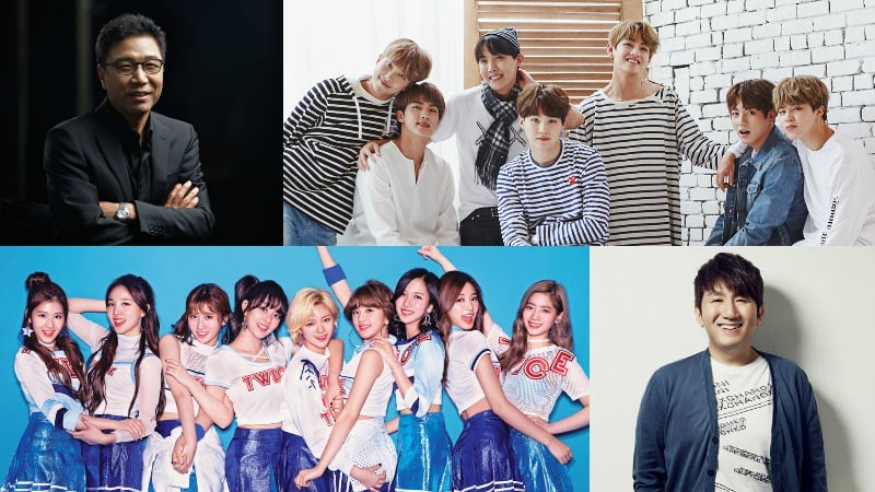 Entertainment Agency Executives Vote On Most Influential Figures And Groups In K-Pop
